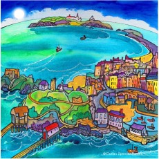 Caldey View, Canvas